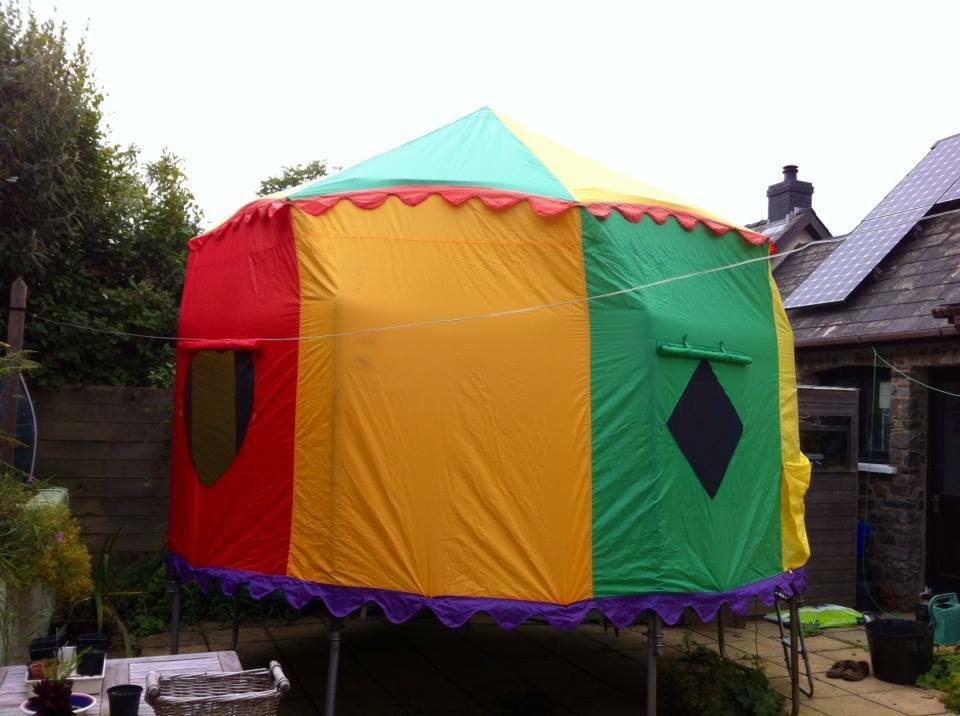 Telstar 12u0027 tr&oline with removeable circus tent  sc 1 st  Gumtree & Telstar 12u0027 trampoline with removeable circus tent | in ...