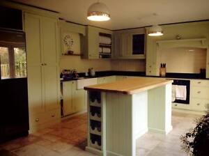 Kitchen Islands, Bespoke, Hand Painted, Solid Wood, Oak, Handmade