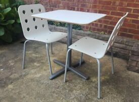 IKEA set of dining table and 2 chairs