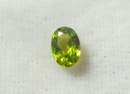 Rare Green Grossular Garnet - 5.7 x 4 Oval - 0.43 Ct. VVS - Old Stock