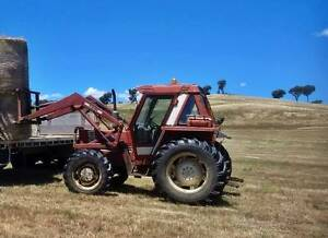 4WD tractor, Fiat 580DT with FEL, power steering bucket and tynes Moss Vale Bowral Area Preview
