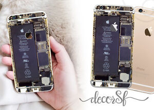 Inside of iPhone 6 wrap skin - iphone sticker cover for iphone - decal - design