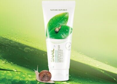 K-Beauty] NATURE REPUBLIC Fresh Herb Snail Cleansing Foam