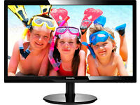 "Philips 24"" LED Monitor - Full HD 1920x1080 - Glossy Black"