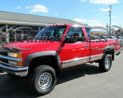 """96-98 Chevy//GMC C//K Pickup 3Dr Extended Cab Long Bed Rocker Panel Trim 6.25/""""N//F"""