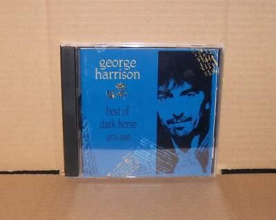 The Best of Dark Horse (1976-1989) by George Harrison CD 1989 Dark
