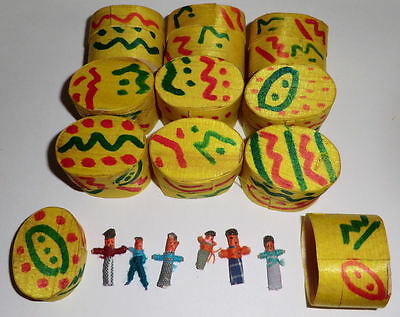 12x Boxes of WORRY DOLLS - Hand Made Guatemalan Trouble Doll Bulk Wholesale Lot!