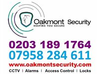 CCTV & Burglar Alarm Installation - All Electrical Work - Free Site Survey - 1 year on site service