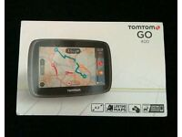 Almost Brand New Tom Tom Go 400 Satnav- only used for 2 short journeys