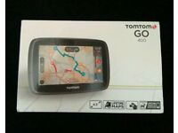 Tom Tom Go 400 Satnav- only used for 2 short journeys