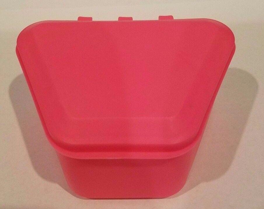 Pureline Oral Care Retainer Bath Case Box Denture Holder Container Pink