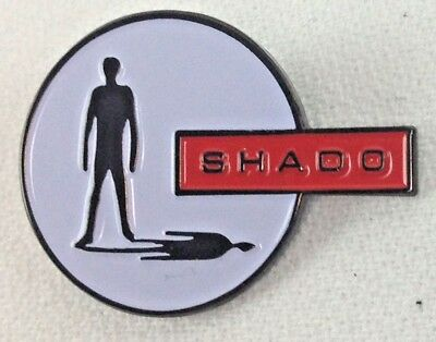 Used, UFO SHADO - Gerry Anderson British TV Television Series Logo - Enamel Pin  for sale  Shipping to Canada