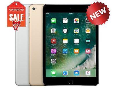 NEW Apple iPad Mini 4 128GB WiFi Unlocked Cellular 7.9 Touch ID GOLD GRAY SILVER
