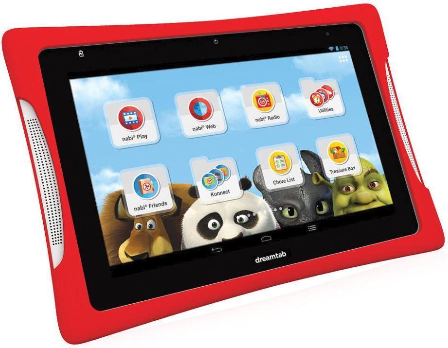 nabi DreamTab HD8 16GB 8 inch Tablet