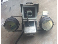 Large, Pan, Tilt, Zoom, CCTV Camera With Infra Red Floodlights.**** Deter Trouble/Intruders.