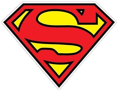 Superman Shield Logo Vinyl Decal Sticker WALL *SIZES*](Superman Logo Stickers)