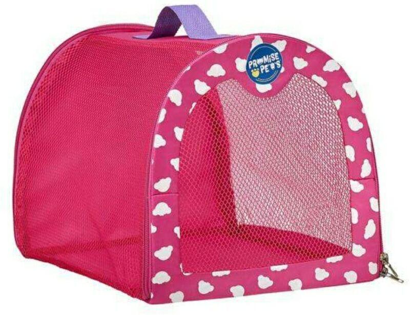 1 - Build a Bear, Promise Pet,  Pink Pet Carrier (NEW)