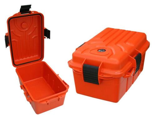 Survivor Dry Box Large Orange Free Shipping (MTM)