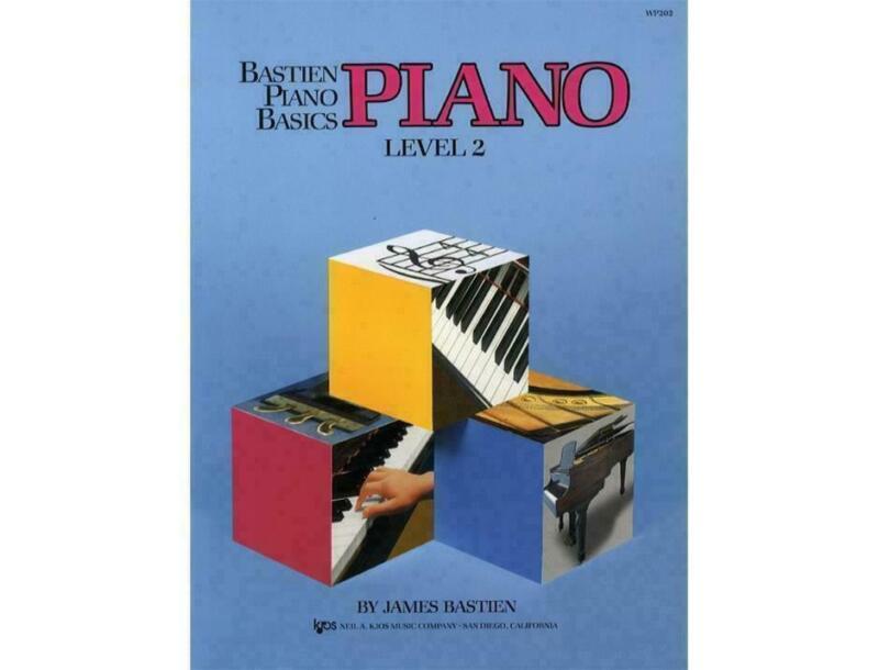 KJOS WP202 Bastien Piano Basics Piano Level 2
