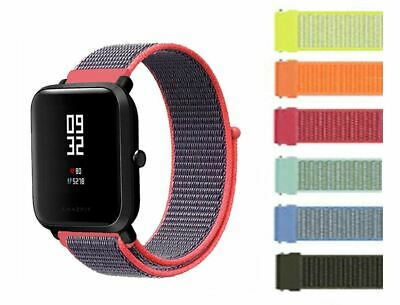 Ersatzband für Xiaomi Amazfit Bip U Pro Nylon Klett anschmiegend Huami Armband
