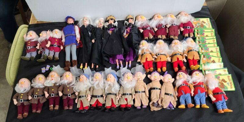 Bikin Figurines Disney Snow White Collection (Witches, Prince, Dwarfs)