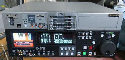 Panasonic aj-spd850E P2 studio recorder / player (714hrs operation)