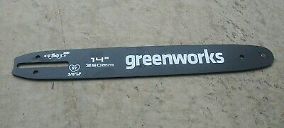 Greenworks CSF403 14-Inch 40V Brushless Cordless Chainsaw REPLACEMENT BAR ONLY!!