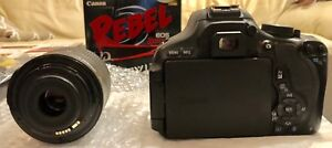 Canon T3i kit (body + EFS 18-55 mm lens). Like NEW!