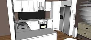 Complete Kitchen Cabinets+Polyurethane Door+Quartz Stone Benchtop Clayton Monash Area Preview