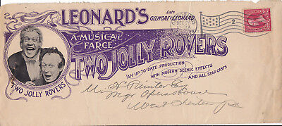 Musical Comedy   Two Jolly Rovers   Illustrated Theatre Ad   Large 1899 Cover