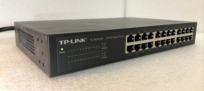 TP-Link TL-SG1024D 24-Port Gigabit Ethernet Switch