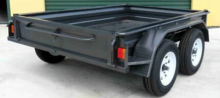 9x5 Australian Made Heavy Duty Tandem Box Trailers - Austrailers