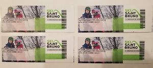 4 billets de ski alpin au mont st-bruno