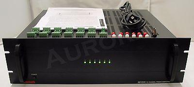 Xantech PA1235 12 Channel 35 Watt IR Amplifier -  Bridgeable to 6 Channel @ (12 Channel Bridgeable Amplifier)