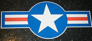 USAF USAAF HOTROD CAR STICKER DECAL UNITED STATES US AIRFORCE MUSTANG JET