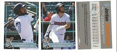Inland Card (2018 INLAND EMPIRE 66ERS COMPLETE TEAM SET MINORS ANGELES)