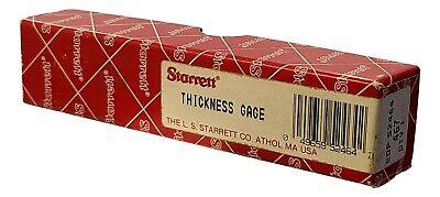 Starrett Thickness Gage Edp 52464 - No. 467