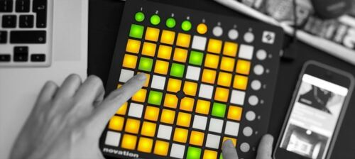 New Novation Performance Controller Launchpad Mini MK2 from JAPAN