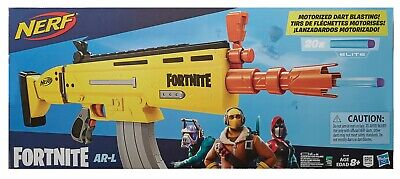 Nerf Fortnite AR-L Elite Dart Blaster GOLD SCAR - FREE SHIPPING