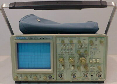Tektronix 2465 Cts 4 Channel Oscilloscope Tested And Working