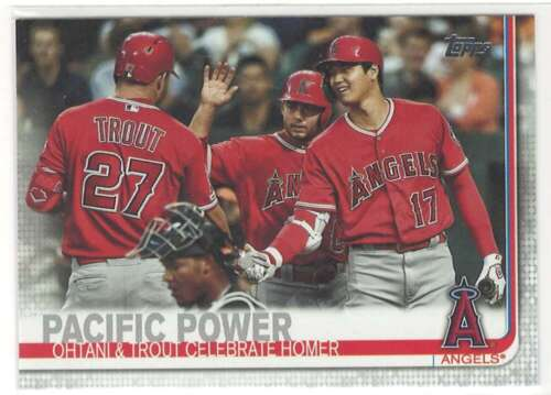 MIKE TROUT/SHOHEI OHTANI 2019 Topps Update US189 ID 12071 - $1.19