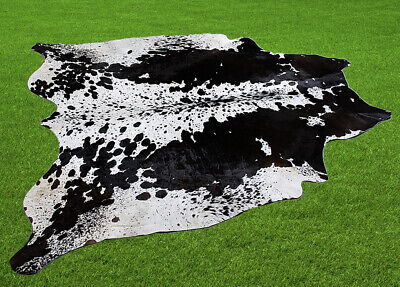 """100% New Cowhide Rugs Area Cow Skin Leather (62"""" x 57"""") Cow hide SA-4345"""
