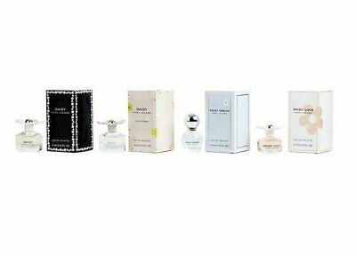 Marc Jacobs 4 piece miniature set Daisy, eau so fresh, dream, love NIB