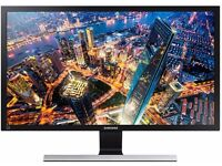 """Samsung U28E590D 28"""" 4K Ultra HD LED Monitor / Gaming Monitor - AS NEW"""