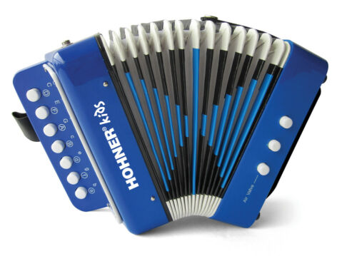 Hohner Kids Toy Accordion - Blue UC102B