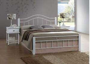 Crystal Queen Bed Frame ( Single/King Single/Double available ) Wangara Wanneroo Area Preview