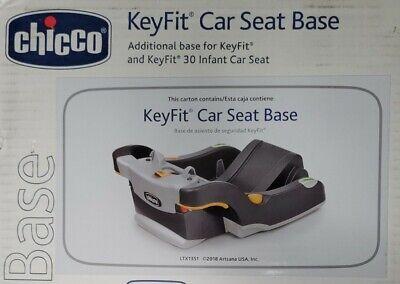 NIB - Chicco Keyfit 30 Infant Car Seat Base- Anthracite*BrandNew*FREE SHIPPING