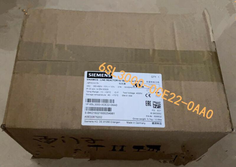 1PC New Siemens 6SL3000-0CE22-0AA0 6SL3 000-0CE22-0AA0 SINAMICS LINE REACTOR