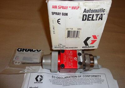Graco 241-748 Auto Delta Hvlp Paint Spray Gun Series K06a 241748 New