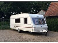 4 BERTH BAILEY PAGEANT WITH AWNING 1999 excellent condition